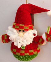 Wholesale Christmas tree little doll hanging Christmas decorations hang Santa snowman fawn dolls dolls hang act the role ofing