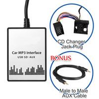 audio changer - Whosale Car MP3 Player SD USB CD AUX Input Audio Adapter Digital CD Changer for BMW E36 E38 E39 E46 Business Professional Radio