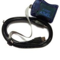 achat en gros de programmeur attiny-Livraison gratuite 1Pcs / Lot AVR ISP AVRISP Atmel STK500 AVR Programmateur USB Atmaga Attiny L3G4200D ADXL345 HMC5883L BMP085