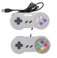 Controlador USB Controladores de PC Gamepad Joypad Joystick Reemplazo para Super Nintendo SF para SNES NES Tablet PC LaWindows MAC