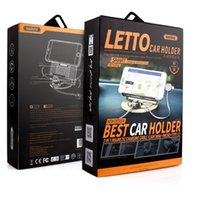 Wholesale REMAX LETTO RC FC2 Car use Mobile phone bracket metal stainless steel Car use Mobile phone charging base hot sales