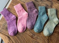 Wholesale Japanese cotton warm women socks thick tube