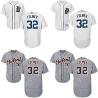 Baseball authentic tigers jersey - 2016 Flexbase Authentic Collection Men Detroit Tigers Michael Fulmer baseball jerseys Stitched S XL