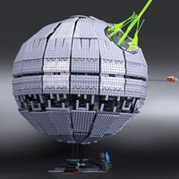 Wholesale Models Building Toy Blocks NEW LEPIN Star Wars Death Star The second generation Building Block Bricks Toys Compatible with