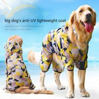 big labrador - Big Dog Sunscreen Clothing Samoyed Big Pet Labrador Spring Summer Anti UV Coat