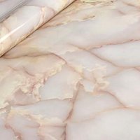 adhesive for marble - LEFU Width120cm Jade Grain marble wallpaper Waterproof marble for furniture kitchen wallpaper self adhesive wallpaper per meter
