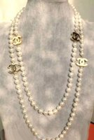 Wholesale STYLISH GOLD MM WHITE SHELL PEARL ENAMEL NECKLACE quot