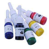 beauty supplies professionals - 6 Colors Set Tattoo Ink Pigment Set Kits Body Art Tattoo ml Professional Beauty Permanent Makeup Tattoo Supplies