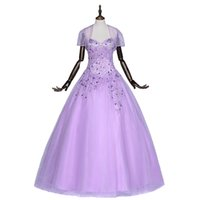 Wholesale 100 Real Pictures Quinceanera Dresses Beaded Sweetheart Sleeveless Tulle Floor Length Luxury Charming Ball Gown Quinceanera Gown Tiers