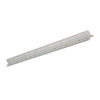 architect ruler - 30cm Aluminium Tri Scale Metal Ruler Architect Engineers Technical Rule quot For Engineering Tools