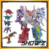 see description action stores - Show Z Store Transformation KO DINOKing Dinobot Action Figure Grimlock Slag Sludge Swoop Snarl
