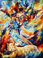 Картина маслом изящных искусств Печать Воспроизведение высокого качества Giclee печать на холсте Домашний декор Пейзажная живопись DH135