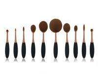 Wholesale 2016 new toothbrush moder makeup brush rose red a set makeup tool