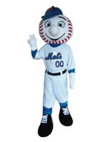 M baseball mascot - 100 the same as photo Baseball boy mascot costume adult suit for party cartoon character mascots for sale