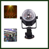 ball connection - Mini LED Magic Crystal Light Ball RGB Rotating Stage Lighting with USB Connection Line for KTV Disco Club Pub Party Wedding Show Decoration