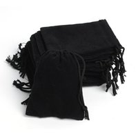 Wholesale 7 cm velvet jewelry pouch gift present package fit for necklace bracelet earring cloth Bag