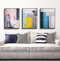 art combines - 3 Pieces combined painting Abstract decoration abstract Wall decoration art Hundred percent hand painting Hand painted art cwx
