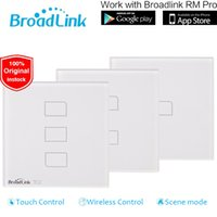 automation control panel - Broadlink TC2 Switch gang EU UK Standard Smart home Automation Touch Panel RM pro Wireless Remote Control by smart phone