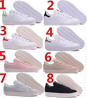 bd blue - 2017 Top quality womens and mens fashion Stan Smith BD W platform shoes Genuine Leather smith white green black casual shoes size