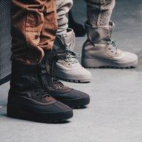 Las nuevas 2016 botas de tobillo de alta calidad 950 Aumentar las tendencias de la moda Altura negro Aumentar los hombres de zapatos Zapatillas de lona casual Botas de nieve al aire libre