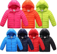 Wholesale and retail new boys coat children s clothes kids warm jacket boys down coat jackets outerwear