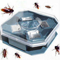 Wholesale Pest Reject Efficient Cockroaches Trap Killer Plus Large Repeller No Pollute No Poison Mini Automatic Cockroach Catcher Machine Traps Killer