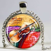 Bohemian best piano keyboards - Rainbow Piano Keyboard Picture Pendant Necklace Silver Jewelry Music Note Choker Musician Concert Accessories Best Friend Gifts