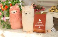 Nouveaux modèles créatifs simples Mokomoko Hug Oreiller Llama Arpakasso Coussin Poupée Peluche Enfant Cadeaux pour enfants Poupée en peluche d'alpaga