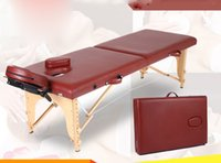 Wholesale Section Folding Portable Massage Table for Spas Salons Resorts and Practitioners Require Pressonally Massage Bed