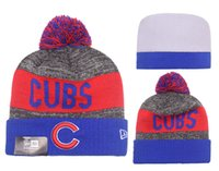 Wholesale New Baseballl Champs Beanies Pom Knit Hats world Series Sports Cap Mix Order Top Quality Hats Winter Wool Hats Cubs Beanies