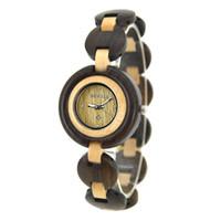 Wholesale BEWELL Wooden Wristwatch Wood Bracelet with Analog Quartz Analog Watch Watch New Bracelet Bangle Quartz W010A on sale