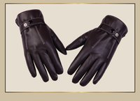 Wholesale 2016 Christmas Hot sale PU bicycle glove for man screen conductive gloves warm autumn winter bicycle glove long finger gloves bike bicicleta