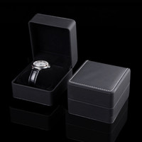 Discount jewellery box gifts - Top PU jewellery gift boxes packaging boxes gift boxes watch packaging gift box party favor box 4.33x3.93x2.83 inch