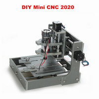 Wholesale DIY CNC router machine frame with motor Mini Engraving Drilling and Milling Machine frame kit