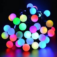 Wholesale 40 LED Solar Automatic Charging Light String Garden Wedding Christmas Outdoor Decorations