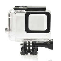 Wholesale NEW Camera Accessories Plastic Underwater Case Waterproof Housing Case Protecting Cover Shell For Gopro Hero