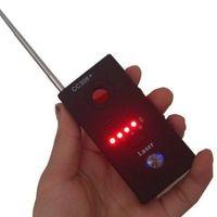 achat en gros de wifi espion bug-Soondar Nouveau Anti-espion signal Bug Rf détecteur caché caméra lentille GSM Device Finder moniteur Full-range Al-ronde Cc308 + Full-range WiFi RF GSM D
