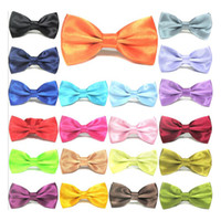 Bow Tie 1 1 Mens Bow Ties Skinny Red Bowtie for Wedding Party Multi Color Fashion Accessories 12.5*6.5cm