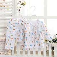 baby thermal wear - The baby suit The spring and autumn period and the new The newborn thermal underwear suits Pure cotton baby outdoor clothing baby wear