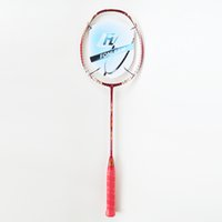 Wholesale PRO RED Badminton Rackets Lbs U Graphite Carbon Offensive Type G4 PRO RED Super Soft Badminton Rackets