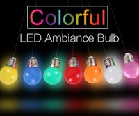 Globe bedroom energy - 2017 New E27 LED Bulb W Energy Saving Bulb V Bombilla Led E27 Colorful Color Led Lights for Home Lighting Christmas Decoration