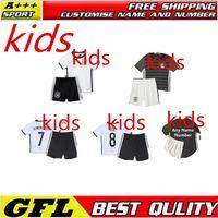 Wholesale 2016 High quality Germany Kids Jersey kit Soccer Germany jersey Children youth Kits Lisboa Football shirts maillot