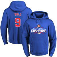 Wholesale New Chicago Cubs Royal World Series Champions Walk Pullover Hoodie With Player Name Hoodies Size S XXXL Mix And Match Order All Jerseys