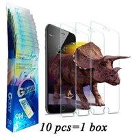 Samsung galaxy verre Avis-Paquet de papier Verre trempé Protecteur d'écran Film pour Iphone 5 6 6 plus 7 Samsung Galaxy S6 / S5 S7 NOTE7 Anti-briser Anti-empreintes digitales