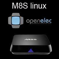 Wholesale Linux system Openelec xbmc Amlogic M8S S812 quad core OTT iptv smart tv box