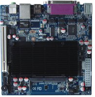 agp dual vga - Itx m42x61e D425 com Dual Display Fan Mini itx Industrial Desktop Motherboard