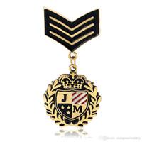 Women's beauty drops silk - Newly badge brooches hero emblem pin silk scarf decoration brooch special Drop rubber brooch beauty soldier brooches AL069