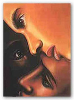 african american black art - Black Is Black Sisters Larry Poncho Genuine Pure Handpainted AFRICAN AMERICAN Art oil Painting On Canvas Museum Quality customized size ebon