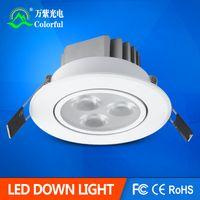 acryl case - W W W W LED downlight Recessed Ceiling light AC85 V All white case