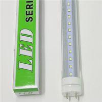 big leds - 4ft LED Tubes Lights T8 W W G13 Integrated AC85 V PF0 LEDs RA SMD2835 Big Promotion Single Double LEDs Stock in USA